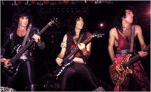 KISS живьём в 1984 году с Брюсом на гитаре