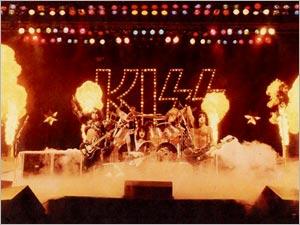 KISS живьём в 1980 году